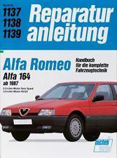 Alfa Romeo 164 ab 1987 Reparaturanleitung Reparatur-Handbuch Jetzt helfe ich mir