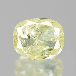 0-11-Carat-NATURAL-Sparkly-LIGHT-YELLOW-DIAMOND-LOOSE-for-Setting-Oval-Cut