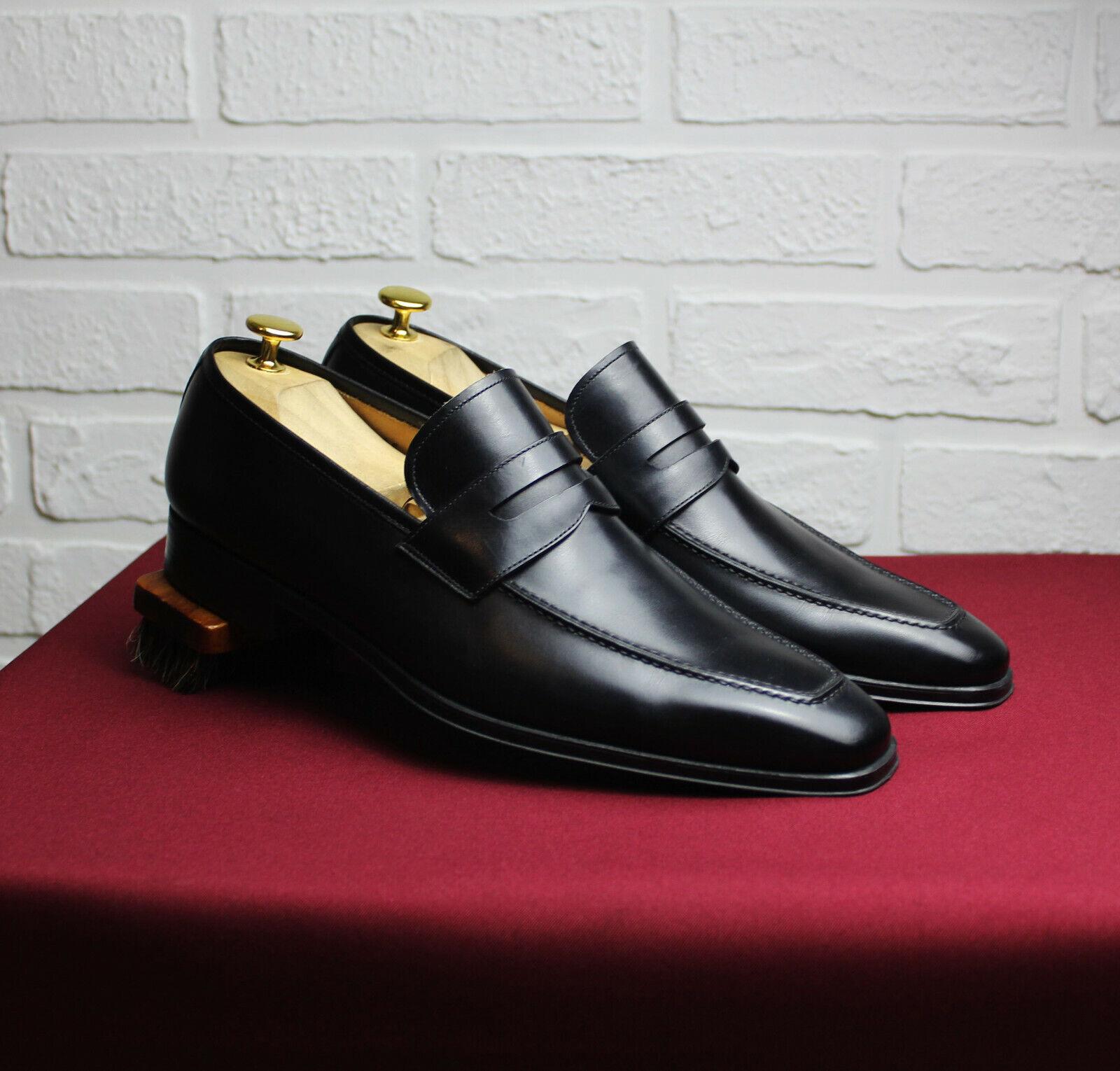 MAGNANNI Leather Loafers Größe US 9 UK 8,5 EU 42