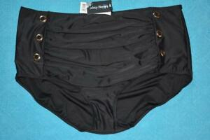 NEW-TS-Taking-Shape-CONGO-SWIM-BRIEF-Size-22-BLACK-Power-Mesh-BOTTOMS-RRP-39-95