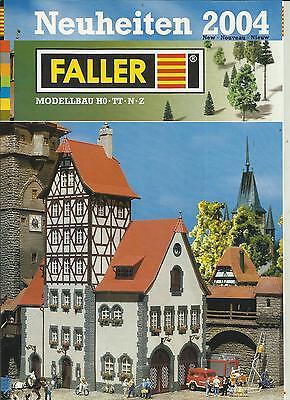 Amichevole Catalogo Faller News 2004 Modello Ferroviario Accessori In Ho Tt N Z-hör In Ho Tt N Z It-it Mostra Il Titolo Originale Facile Da Lubrificare