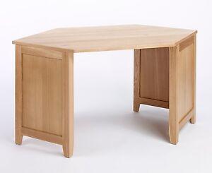 Image Is Loading Sherwood Oak Corner Desk Light Oak Office Oak