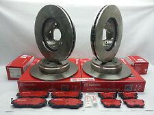 Genuine Brembo Set Rotors + Brake Pads (2-Front & 2-Rear) Acura MDX 2003-2006