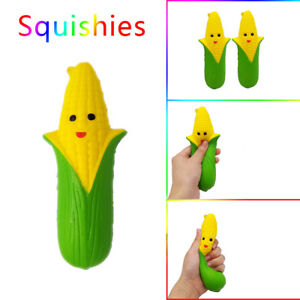 Mini Cartoon Smiley Corn Scented Soft Slow Rising Toys Stress Relief Toy Ebay