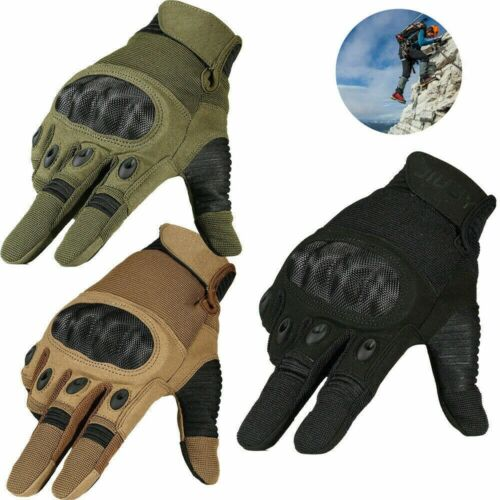 MENS REAL LEATHER GLOVES THERMAL THINSULATE LINED CLIMBING SOFT WARM WINTER Xmas