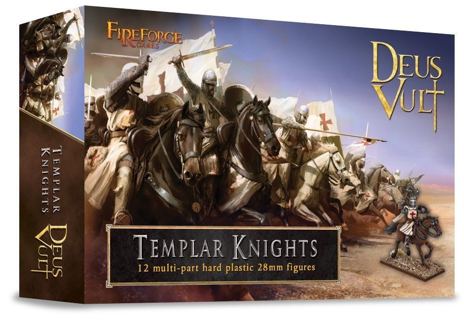 Templar Knights Cavalry Fireforge Games Deus Vult Knight Medieval Middle Ages