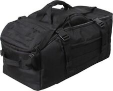 Mission Duffle Bag Backpack Black 3 in 1 Convertible 23500 Rothco
