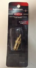 Radioshack Adapter RCA Male To BNC Female (278-301)