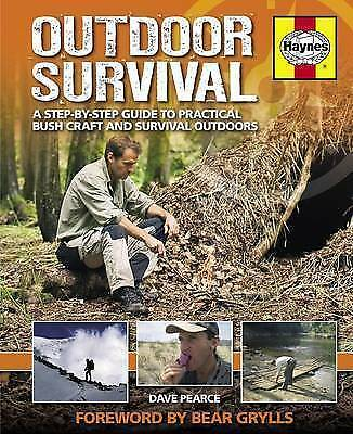 Outdoor Survival Manual: A step-by-step guide to practical bush craft and surviv