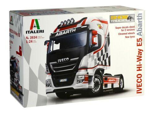 Iveco E5 Hi-Way Abarth 3934 Truck  ITALERI 1:24  New !