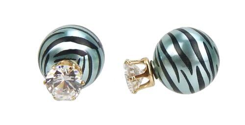 Doppel Ohrringe by Ella Jonte viele Farben Ohrstecker double pearls earrings