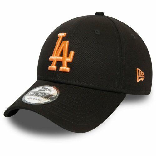 New Era 9Forty Damen Cap Los Angeles Dodgers schwarz peach