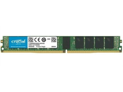 Crucial Memory CT16G4XFD8266 16GB DDR4 2666 ECC VLP Retail