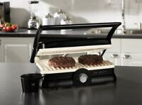 Oster Duraceramic Panini + Grill Maker Eco Indoor Sandwich Kitchen Bacon Large