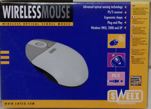 Sweex-Wireless-Optical-Scroll-Mouse-PS-2-NEUF