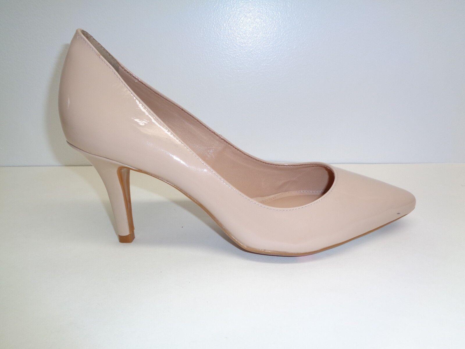 Antonio Melani Size 9 M Beige ODETAH Beige M Patent Leather Heels Pumps New Womens Shoes 08a75a