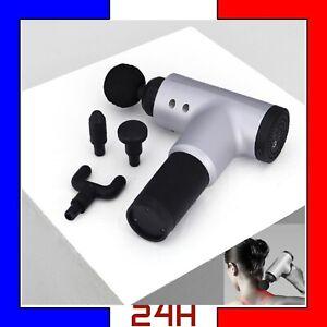 Massage-Gun-Pistolet-4-speed-Sportif-masseur-muscle-douleur-musculaire-vibration