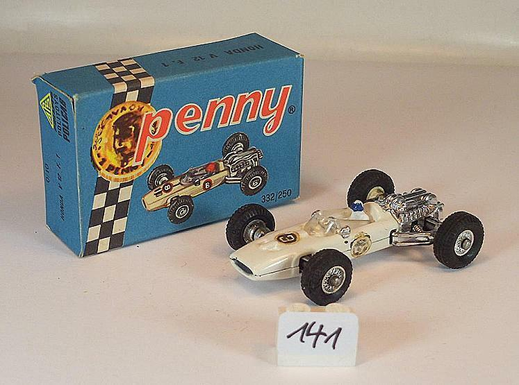 Polistil Penny ca. 1 66 Nr. 0 10 Honda V12 F1 Formel 1 white OVP