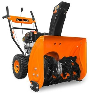 WEN-SB24E-24-034-212cc-Two-Stage-Self-Propelled-Gas-Snow-Blower-w-Electric-Start
