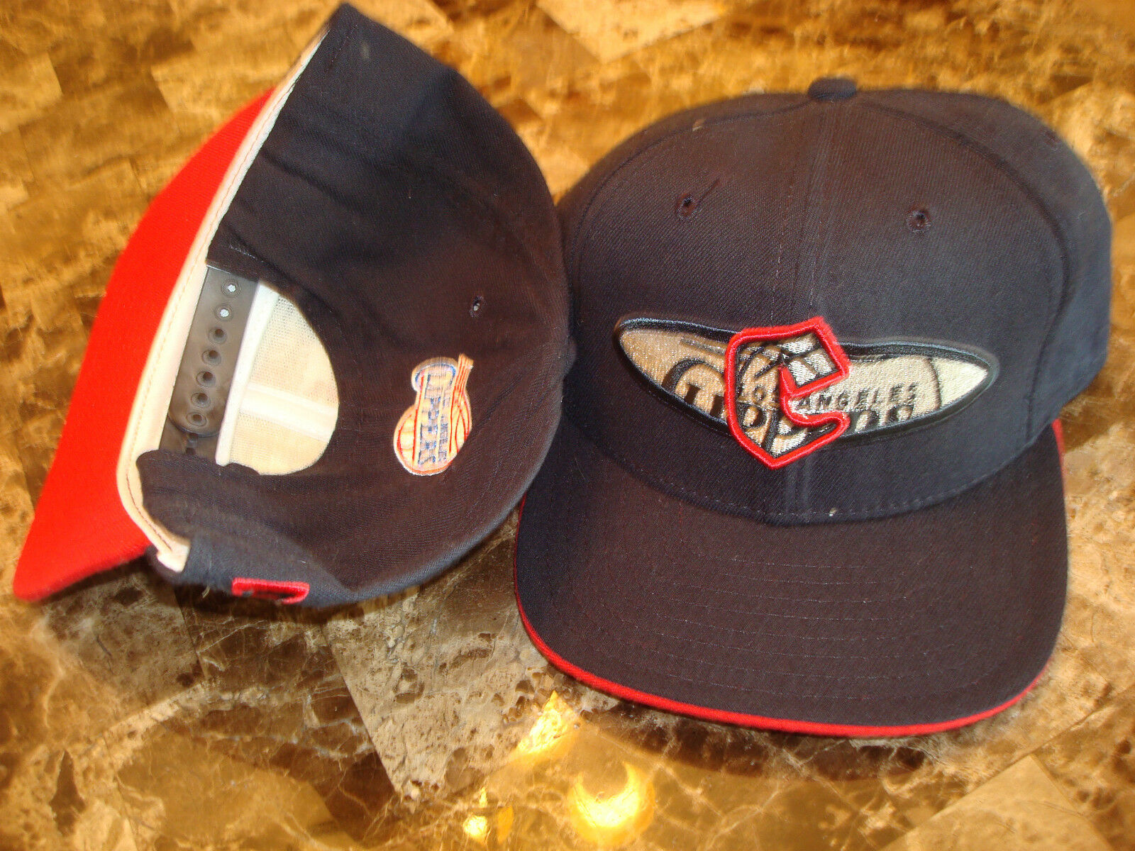 LOS ANGELES CLIPPERS  NEWRA WOOL CAP 98-01 DEADSTOCK 90'S HAT CAP WOOL VINTAGE SNAPBACK eced57