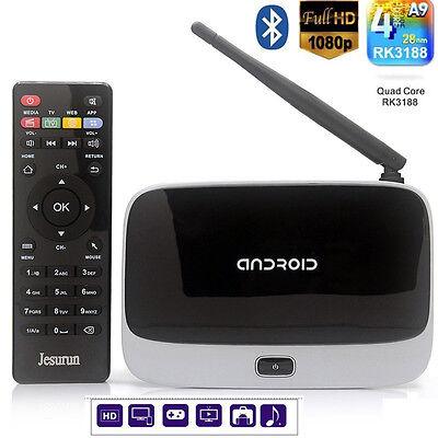 CS918 Quad Core Android 4.2 TV Box Player HDMI 1.8GHz WiFi 1080P 2GB 8GB EU Plug
