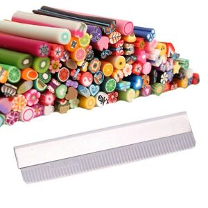 100pcs-Nail-Art-Fimo-Canes-Rods-Decoration-Blade