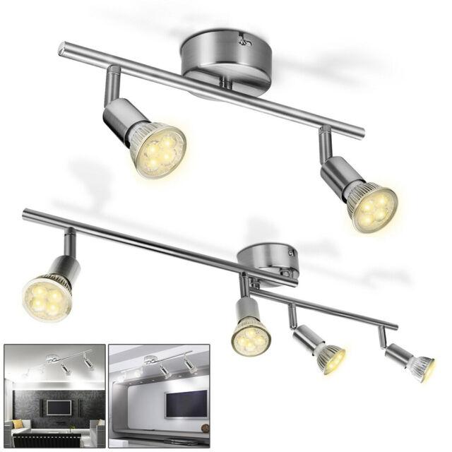 LED Design Wand Strahler Leuchte Flur Lampen Wohn Schlaf Ess Zimmer Spot drehbar