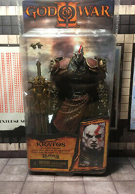 NECA God of War Kratos in Ares Armor with The Blade of Olympus Action Figure PVC
