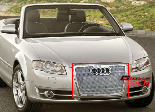 Fits Audi A4 Stainless Steel Mesh Grille Insert 06-07