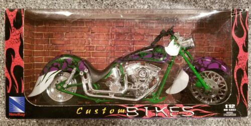 NEW RAY 1/12 SCALE CUSTOM BIKES MOTORCYCLE