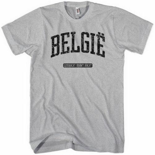 NEW XS-4XL Belgium Belgique Brussels Liege Antwerp Ghent BELGIE T-shirt
