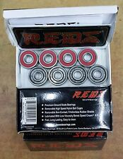 Bones Reds Skate Bearings 608 RS 8 pcs set NEW!!! 8mm