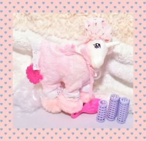 My-Little-Pony-G1-VTG-Sweet-Dreams-Pink-Pajamas-Pony-Wear-Clothing-Outfit