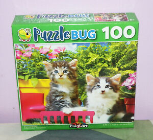 New Cra-Z-Art Puzzlebug Backyard Buddies Kitty Cat Kitten ...