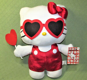 "NEW HELLO KITTY Large 21"" PLUSH DOOR GREETER Plush Toy VALENTINE GIFT Love"
