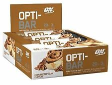 Optimum Nutrition OPTI-BAR - Cinnamon Pecan, 12 Protein Bars