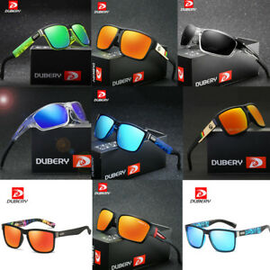 DUBERY-Men-039-s-Sport-Polarized-Driving-Sunglasses-Outdoor-Riding-Fishing-Goggles