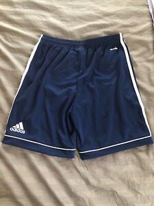 adidas-Youth-Squad-17-Soccer-Shorts-Navy-Blue-White-L-Style-BK4771-NWT