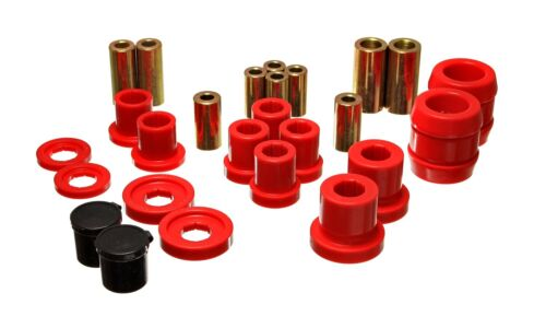Energy Suspension Control Arm Bushing Set Red Front for 00-09 Honda S2000