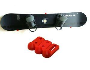 Wall Mounted Snowboard Board Display Hangers Brackets Hook Holder Keeper Stand