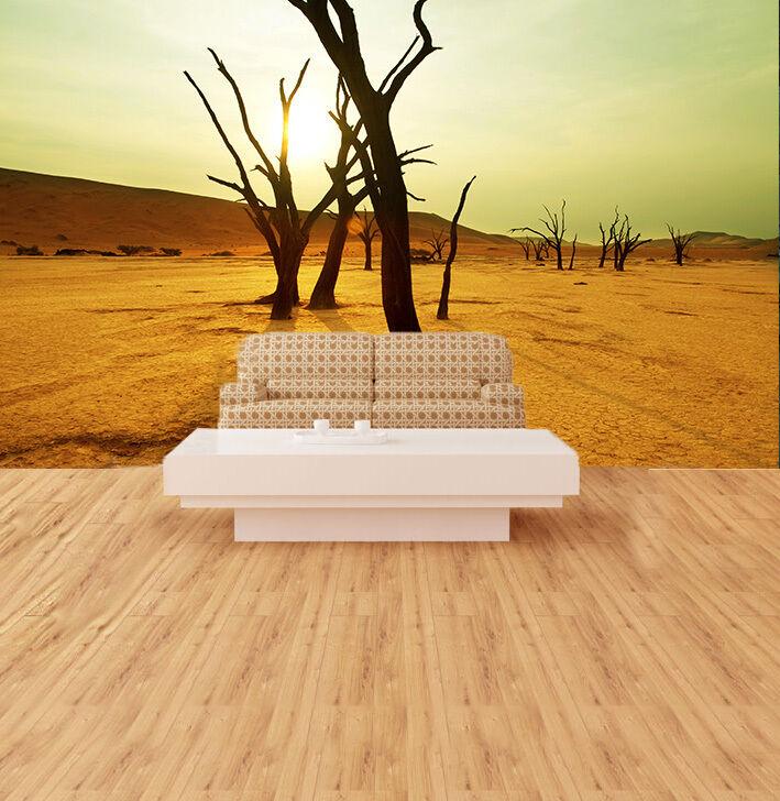 3D Gelbe Wüste 4675 Fototapeten Wandbild Fototapete BildTapete Familie DE