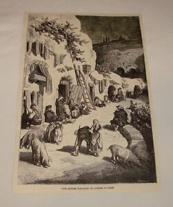 1887-magazine-engraving-CAVE-HOUSES-OF-GYPSIES-IN-SPAIN