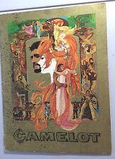 Camelot Movie Vintage 1967 Richard Harris 46 page Color Program-SUPER NICE!
