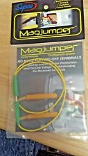 """/""""Magjumper/"""" JUMPER WIRE MAGNETIC 19/"""" BLACK NO MORE POPPING OFF TERMINALS"""