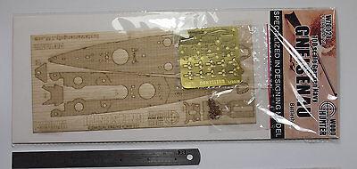 W70021 Hunter 1//700 German Genisenau wooden deck  for Tamiya 77520