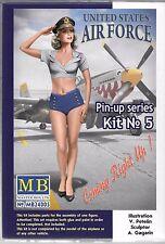 Master Box Pin Up Girl, Gal 1/24 Kit No. 5 Compliment to Aircraft, USAF  005 ST