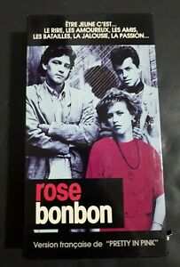 Pretty-In-Pink-Rose-Bonbon-1986-VHS-French-Version-Comedy