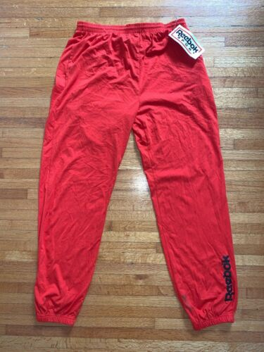 90s DEADSTOCK W/TAGS VINTAGE REEBOK SWEATPANTS MEN