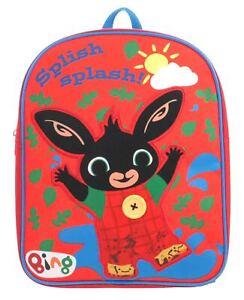 CBeebies-BING-cade-Splash-Muddy-Boys-Junior-Zaino-Zainetto-per-bambini