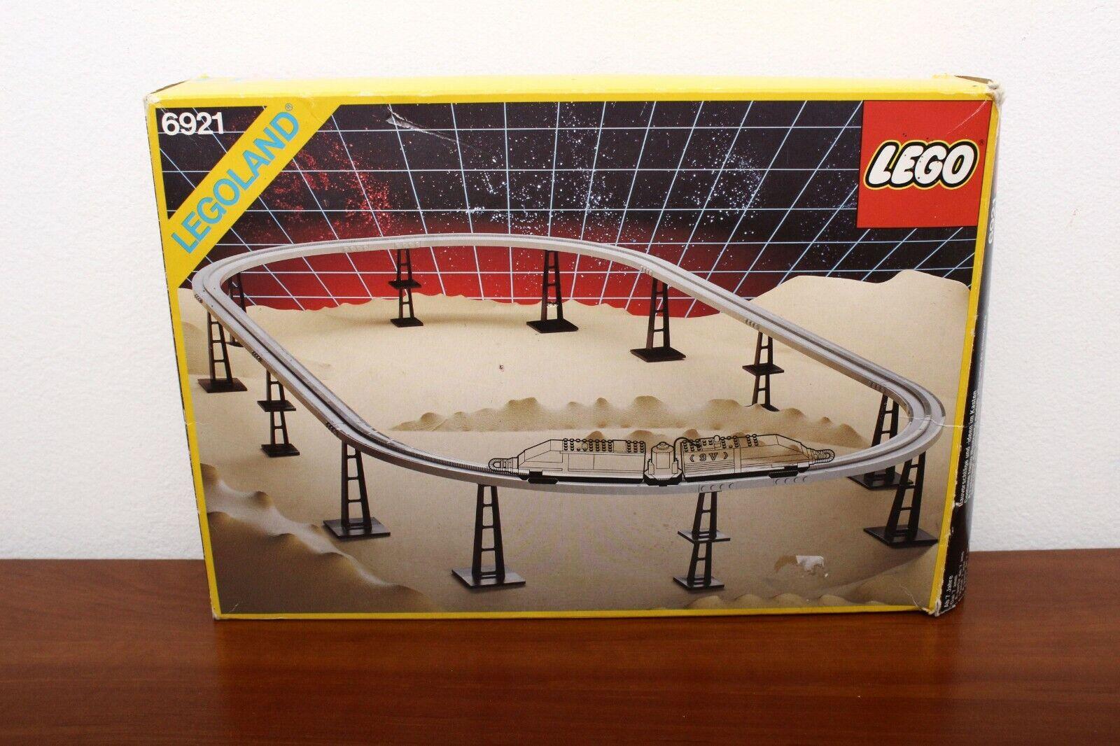 Lego Espace supplémentaire Set 6921-1 moonrail accessoire piste 100% Cmplt. + Instr + Boîte